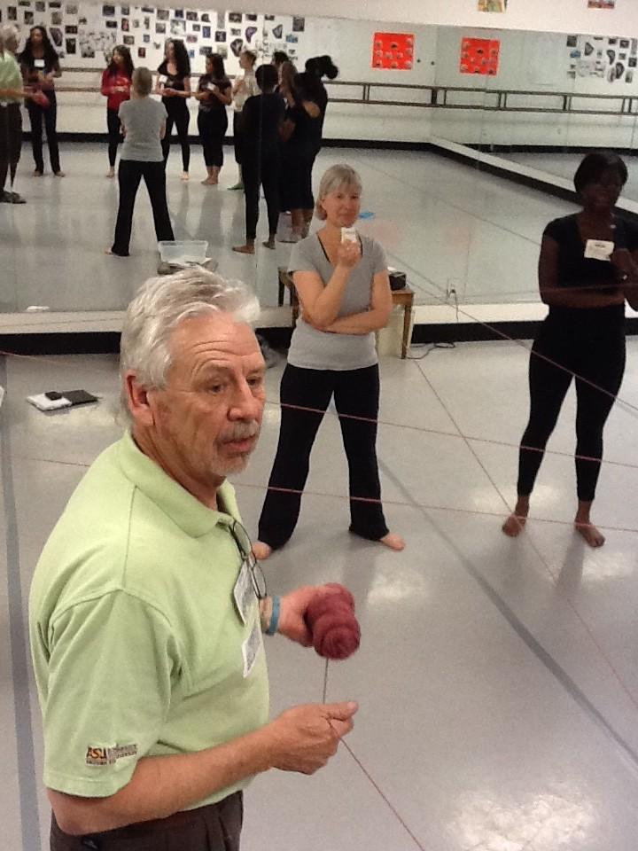 CAP dance initiative teacher-consultant John Dole