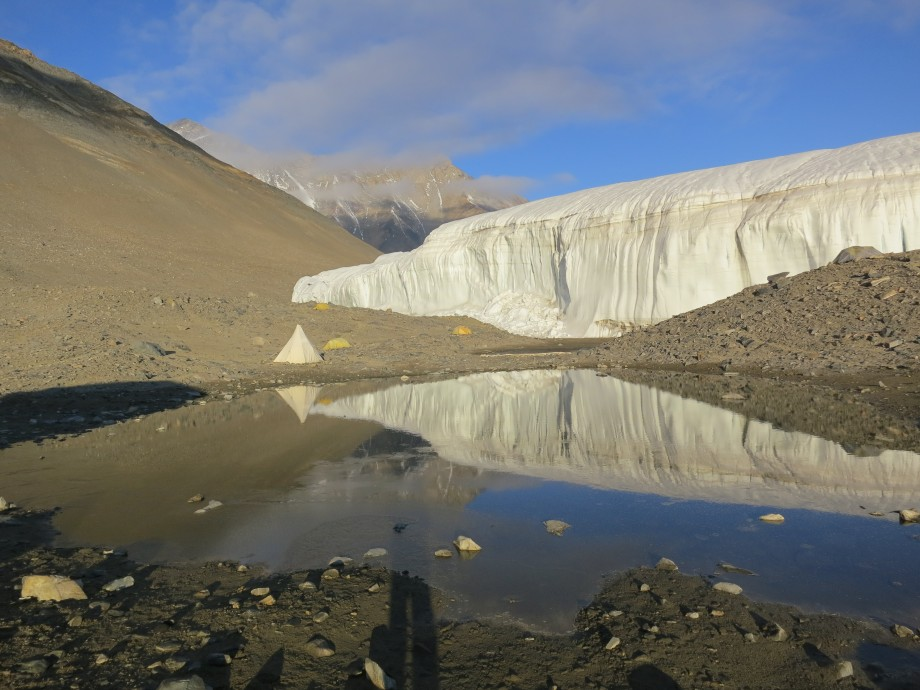 Canada Glacier in  McMurdo Dry Valleys