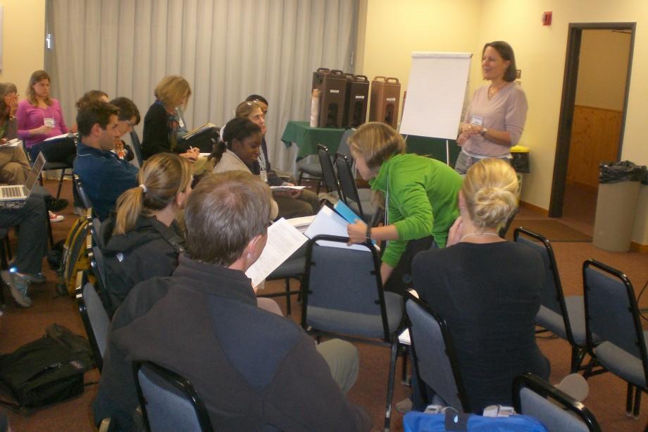 Julie Doll at ASM Climate Change Communication Workshop