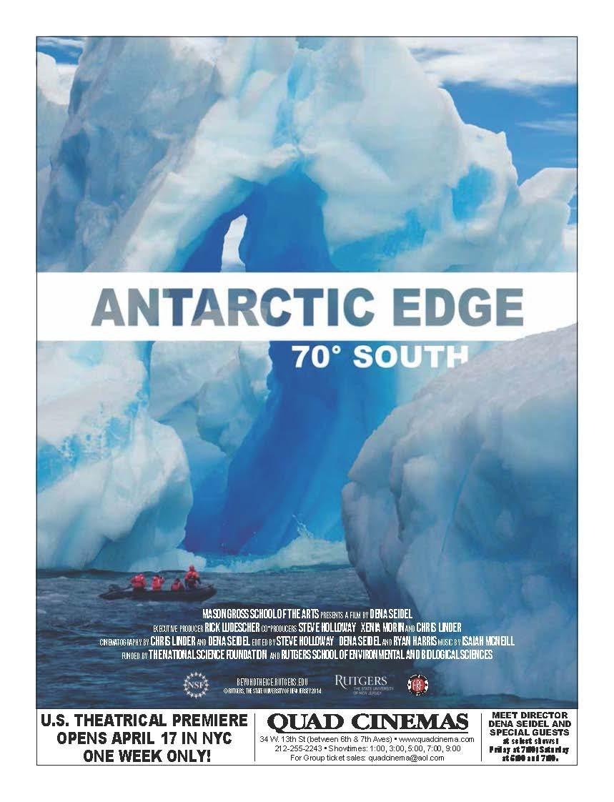 Antarctic Edge: 70° South poster
