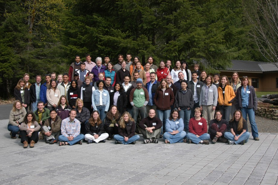 Group Photo of participants at the the 2005 LTER Graduate Student Symposium