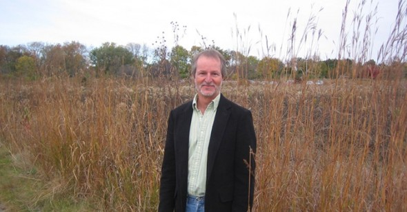 Scott L. Collins at Curtis Prairie
