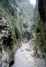 The dynamic landscape of Taroko National Park in Taiwan