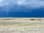 Tornado to the north-northeast of the SGS LTER field headquarters