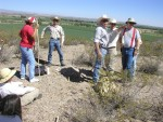 Rangeland Specialists from the Bureau of Land Management Las Cruces Field Office