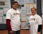 International participants were proud to wear the ILTER t-shirts
