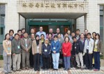 Local and international participants at an information management workshop in Ta