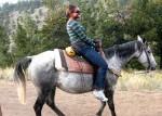 Horseback riding at ASM 2009