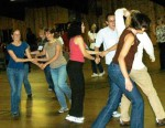 Women dancing at ASM 2009