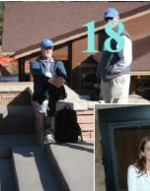 Chatting outside at ASM 2009