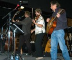 Musicians on stage, ASM 2009