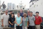 Field trip to Jiaozhou Bay, Qingdao aboard the RV Chuangxin