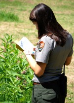 National Park Service staff make phenology observations