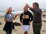 Caroline Roy gets an up close view of the marine life found in the Santa Barbara