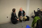 Julie Palavovich Carr, working with Brian McGrath during his workshop