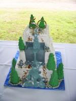 HBR weir cake