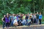 Students and teachers attending internship