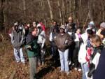 Baltimore LTER ecologist Alan Berkowitz guides SEEDS undergraduates