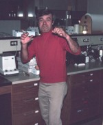 Mike Klug circa 1985 – before joining LTER