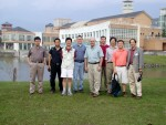 International participants outside the National Dong Hwa University