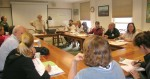 HFR Forest Ecologist, Dr. John O'Keefe conducts a classroom session