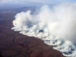 The Anaktuvuk River fire burning